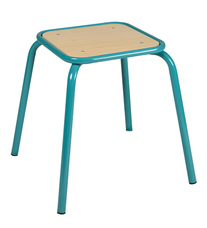 Tabouret assise carrée