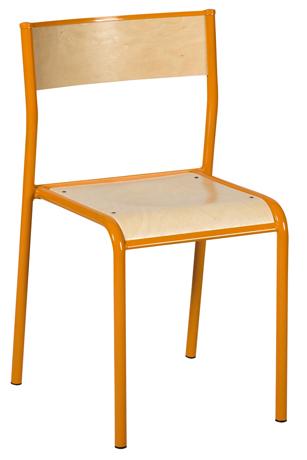DPC - SCOLAIRE & SALLE DE COURS Chaise LODI 4 pieds Photo 2