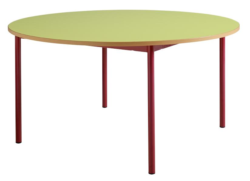 DPC - MATERNELLE Table maternelle fixe 4 pieds tube diamètre 40mm PHOTO 2