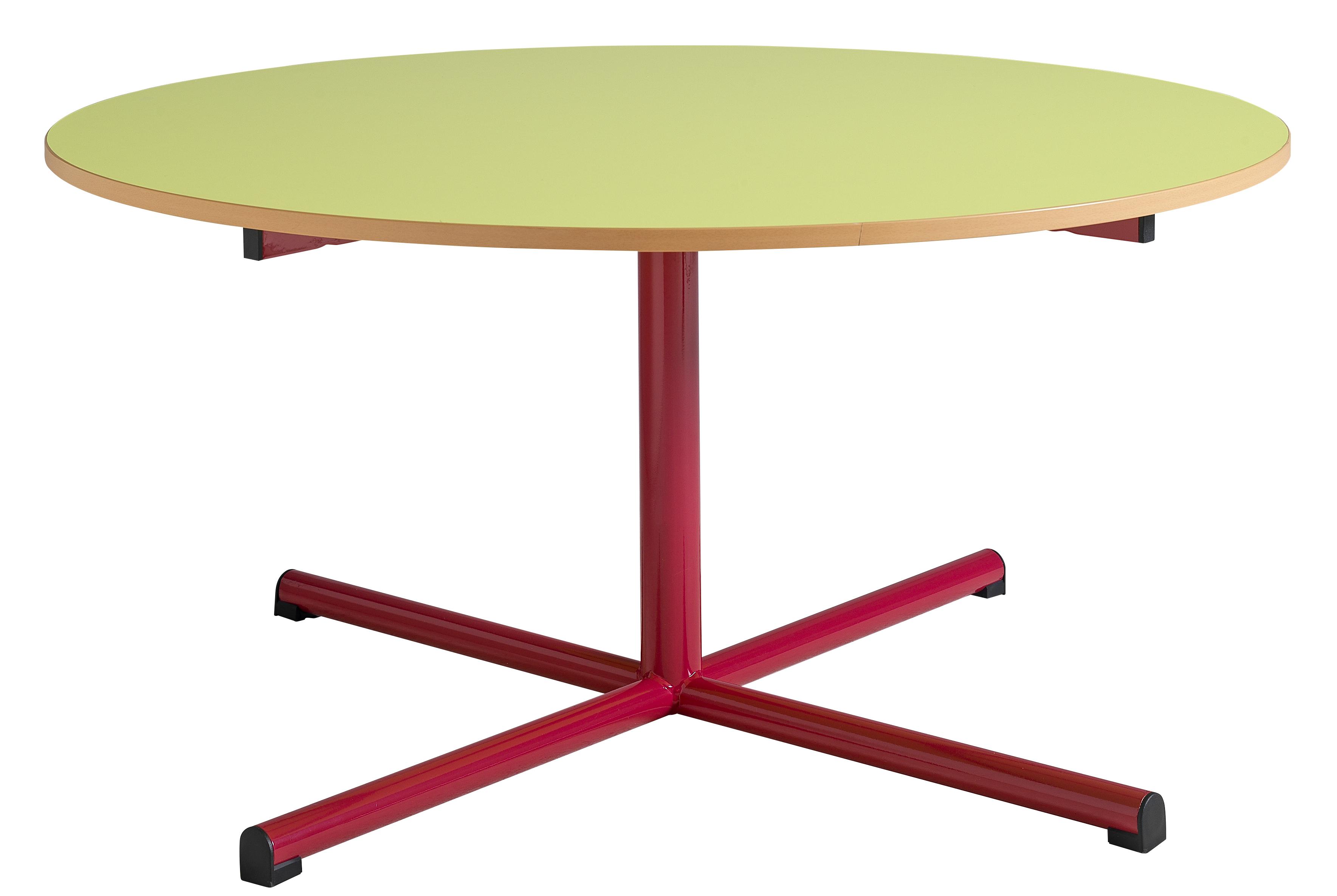 DPC - MATERNELLE Table maternelle fixe 4 pieds tube diamètre 40mm PHOTO 3