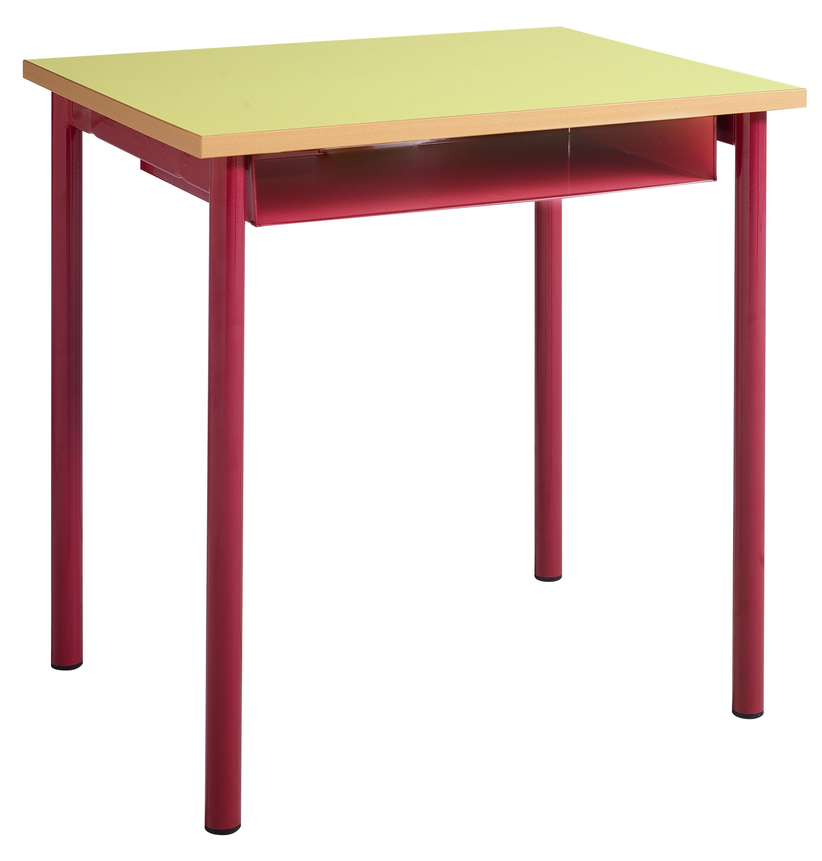 DPC - MATERNELLE Table maternelle fixe 4 pieds tube diamètre 40mm PHOTO 5