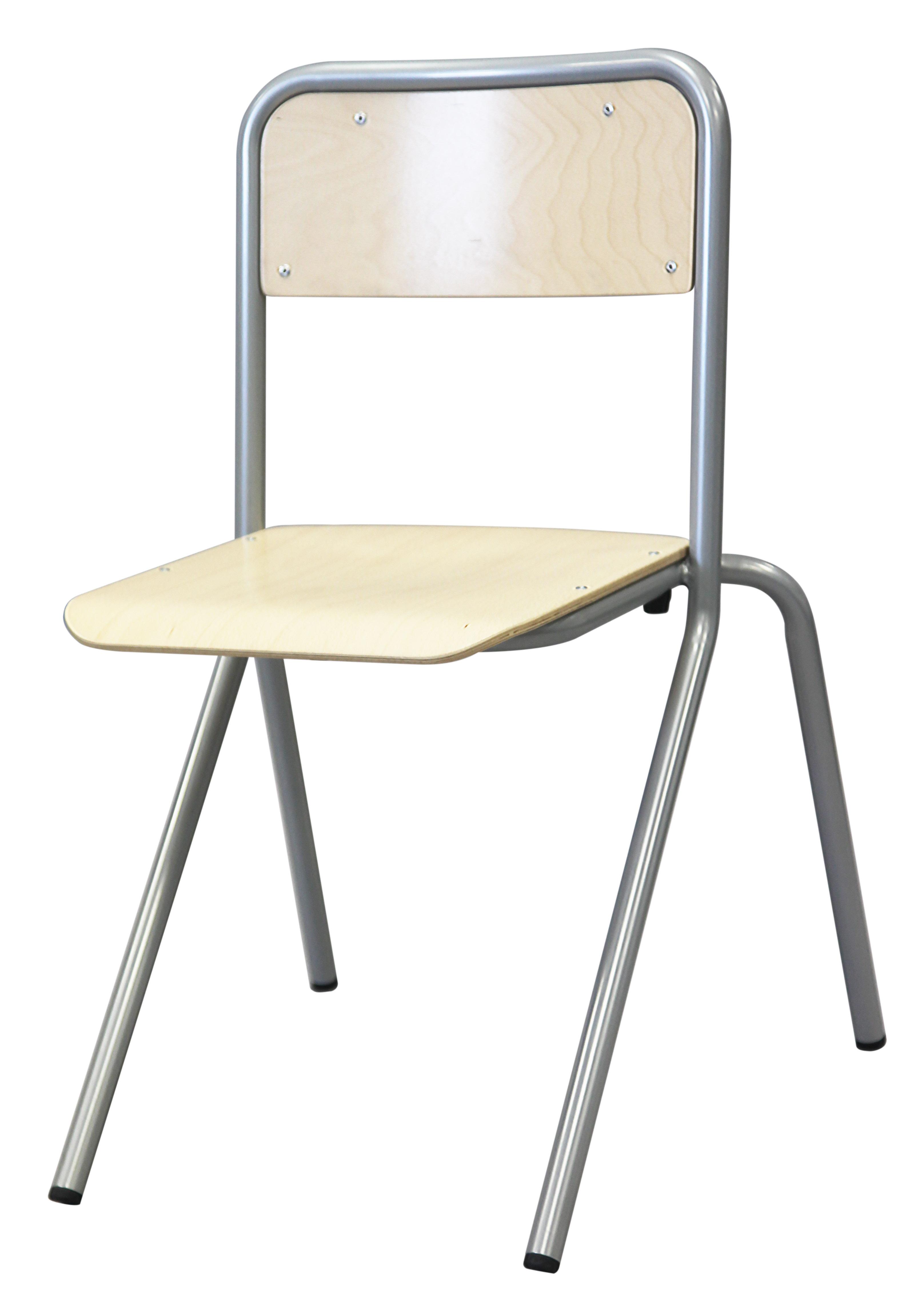 Chaise ALGO - 4 pieds appui sur table - assise et dossier multiplis