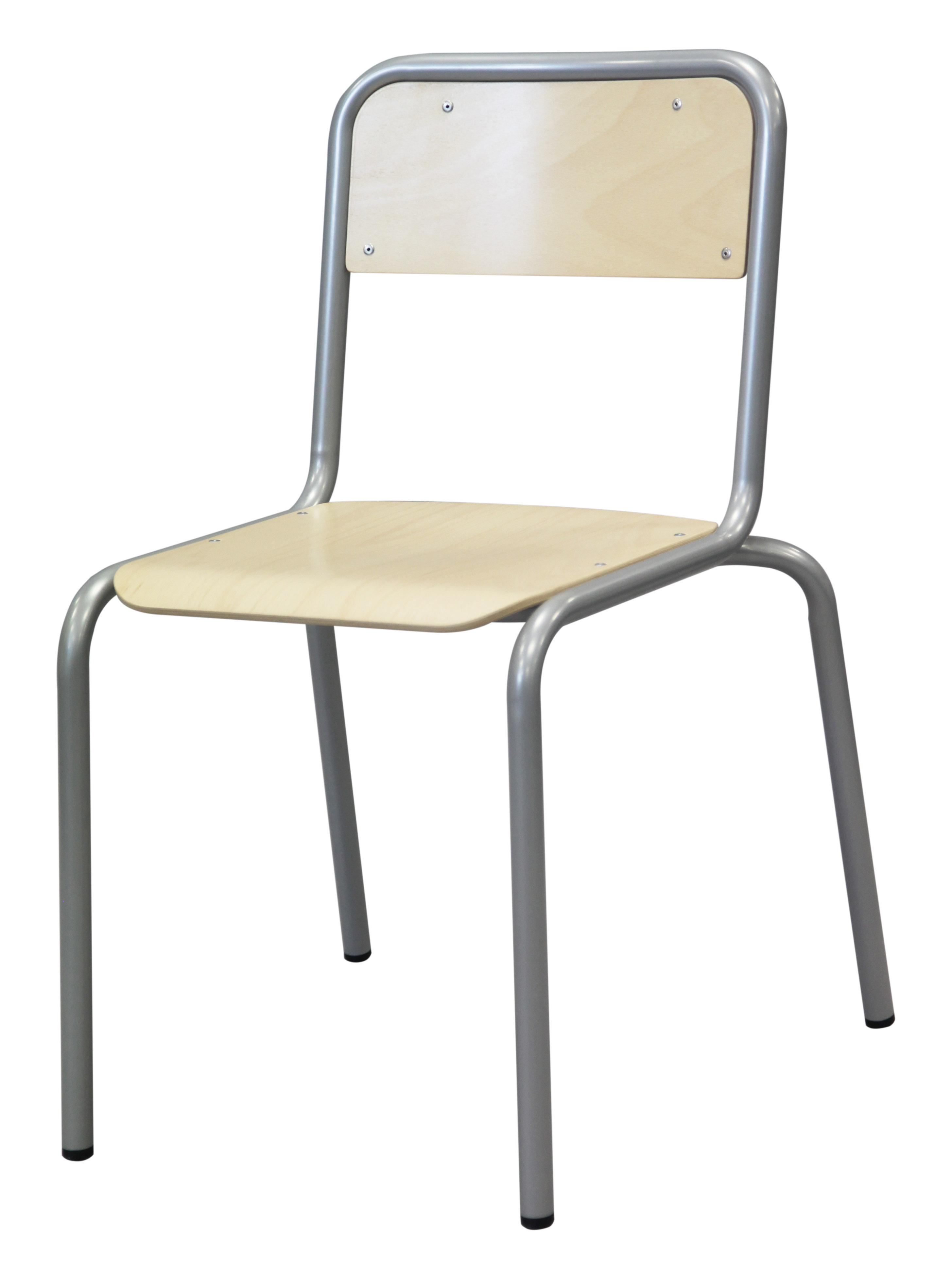 Chaise ALGO - 4 pieds - assise et coque multiplis