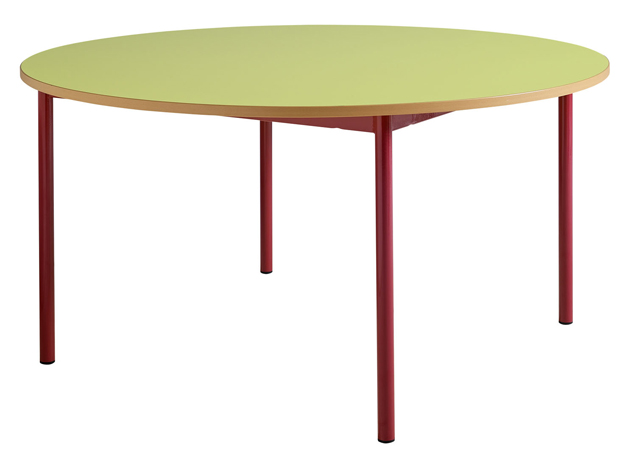 Table maternelle fixe 4 pieds