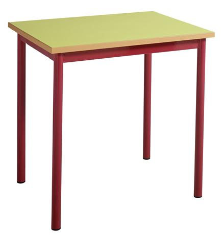 DPC - MATERNELLE Table maternelle fixe 4 pieds Photo 2