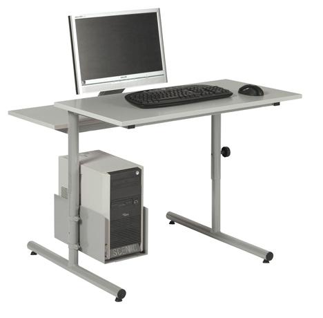 DPC - INFORMATIQUE & BUREAUX Table informatique PALMA réglable - chants ABS Photo 2