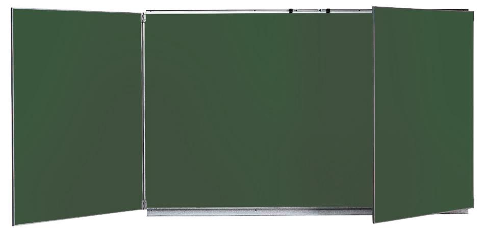 Tableau tryptique 100x200cm vert