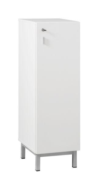 DPC - SCOLAIRE & SALLE DE COURS Meuble 2 colonnes MANDI  avec 3 portes sur piétement latéral tube PHOTO 3