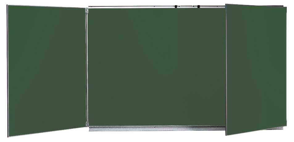 dpc scolaire salle de cours tableau tryptique 120x200cm vert. Black Bedroom Furniture Sets. Home Design Ideas