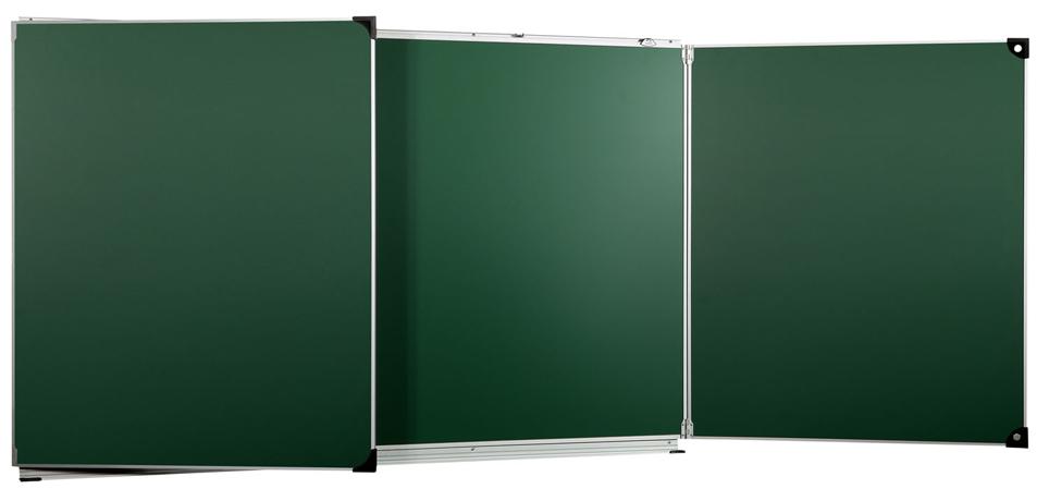 DPC - SCOLAIRE & SALLE DE COURS Tableau triptyque 120x200cm vert Photo 2