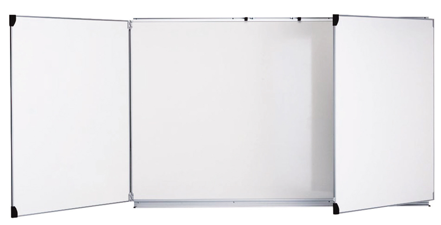 Tableau triptyque 120x200cm blanc