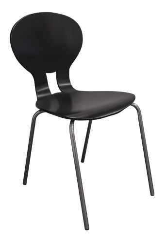 Chaise 4 pieds tube ø 18 mm OMAHA