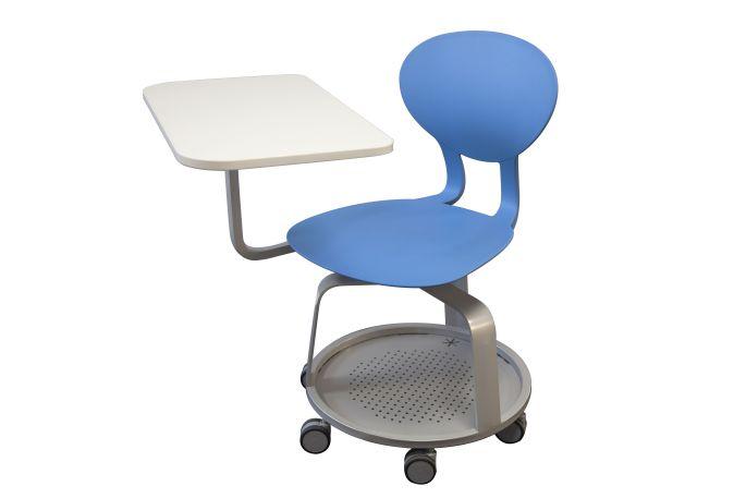 Chaise mobile KAPPA fixe avec tablette