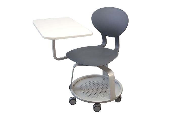 DPC - SCOLAIRE & SALLE DE COURS Chaise mobile KAPPA fixe avec tablette PHOTO