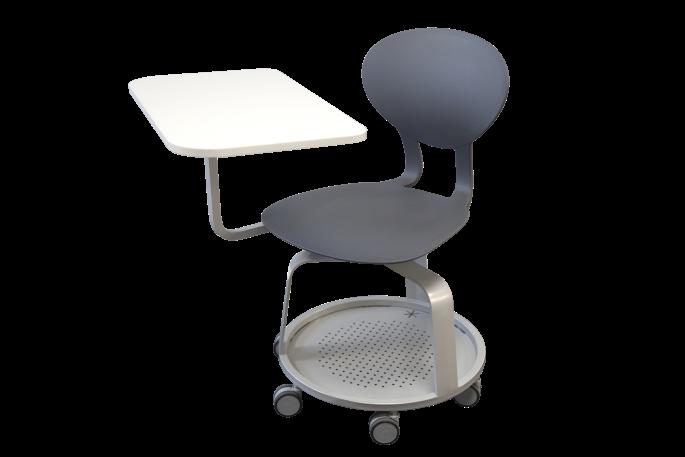 Chaise mobile KAPPA pivotante avec tablette