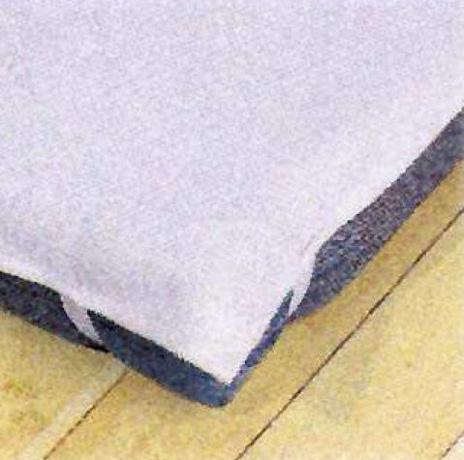 Alèze TRINITE 100 % coton sur ABS  - forme plateau