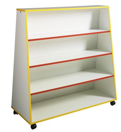 dpc maternelle pr sentoir livres 1 face et tablettes. Black Bedroom Furniture Sets. Home Design Ideas